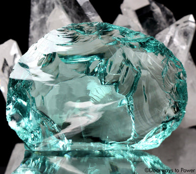 Gem Aqua Serenity Monatomic Andara Crystal 'Modulating Perception'