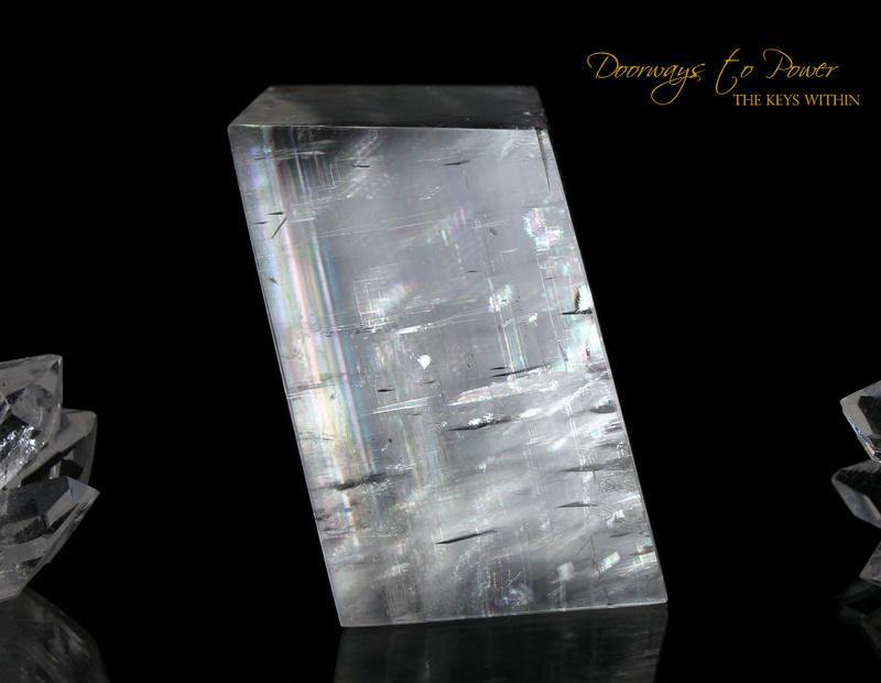 Optical Calcite Crystal 'Multi Dimensional Awareness'