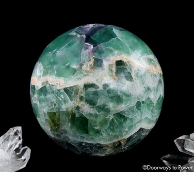 Fluorite Crystal Ball Sphere