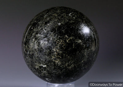 Powerful Black Tourmaline & Quartz Sphere 'Light in the Darkness'