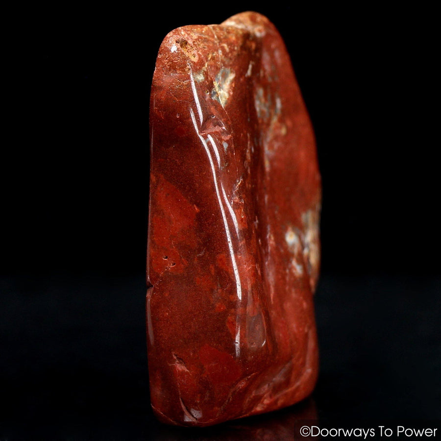 Red Fire Azeztulite Crystal (Polished) Alchemical Transformation