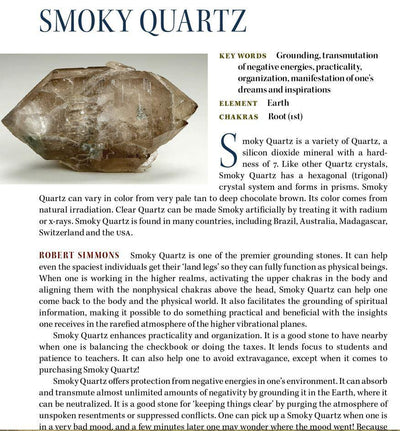 Smoky Quartz Crystal Properties