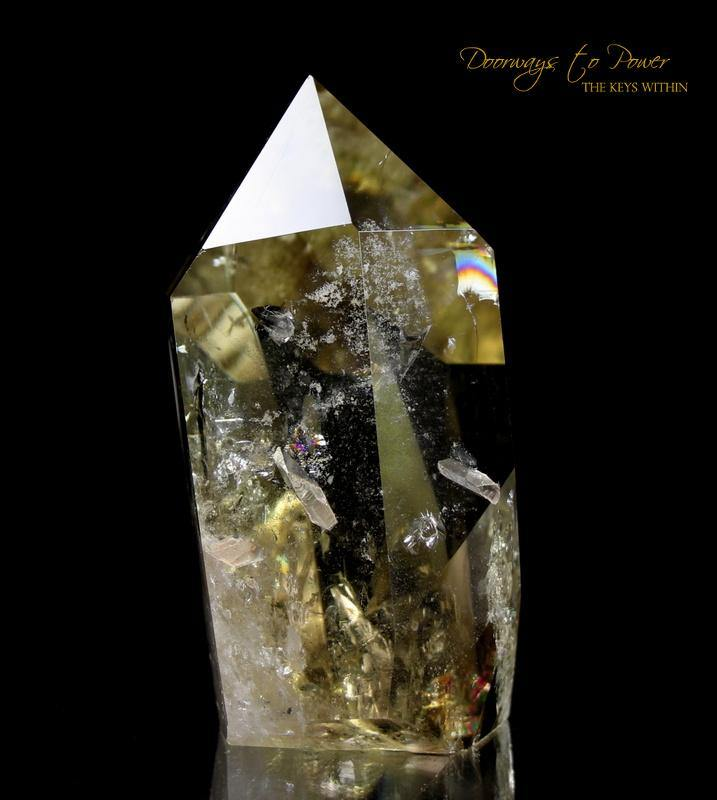 Citrine Smoky Quartz Master Crystal