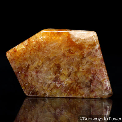 Himalaya Red Gold Azeztulite Tumbled Stone