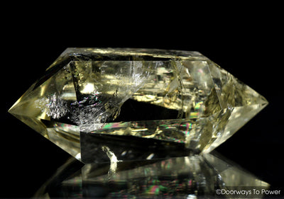 John of God Citrine Quartz Isis Crystal