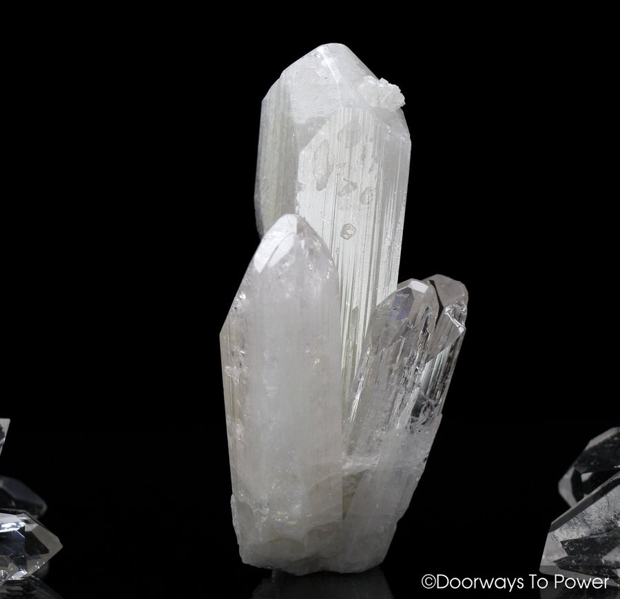 Danburite Twin Crystal
