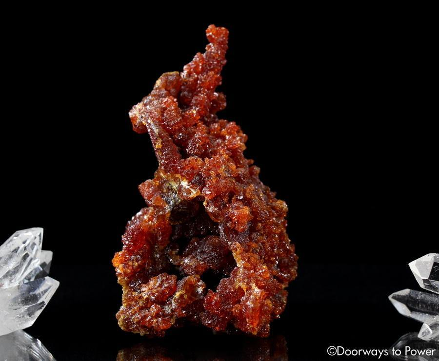 XL Zincite Crystal Specimen Rare A+++ Collectors Quality