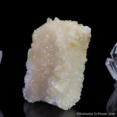 Danburite Crystal Specimen & Synergy 12 Stone 'Collectors Quality'