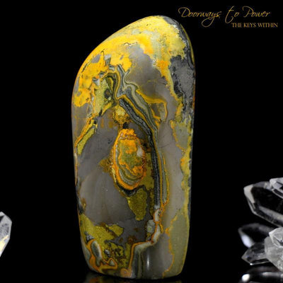 Bumble Bee Jasper Crystal
