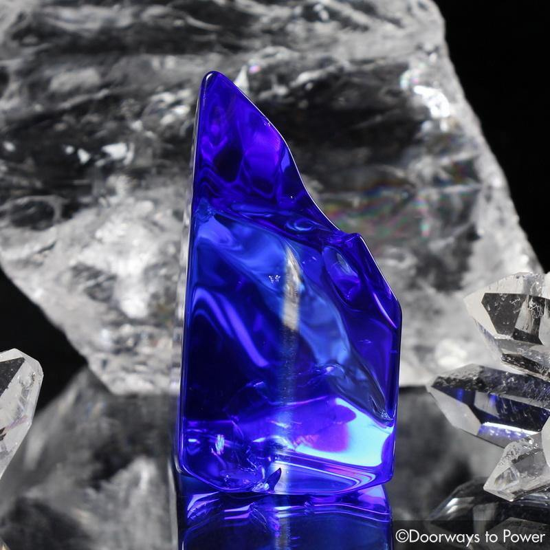 Siberian Blue Quartz Crystal