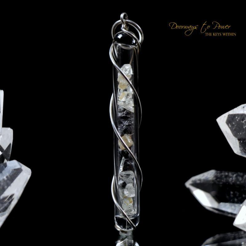 Diamond Dreamer Crystal Necklace Pendant