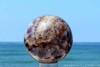 "Big 4.5"" Amethyst Crystal Sphere"