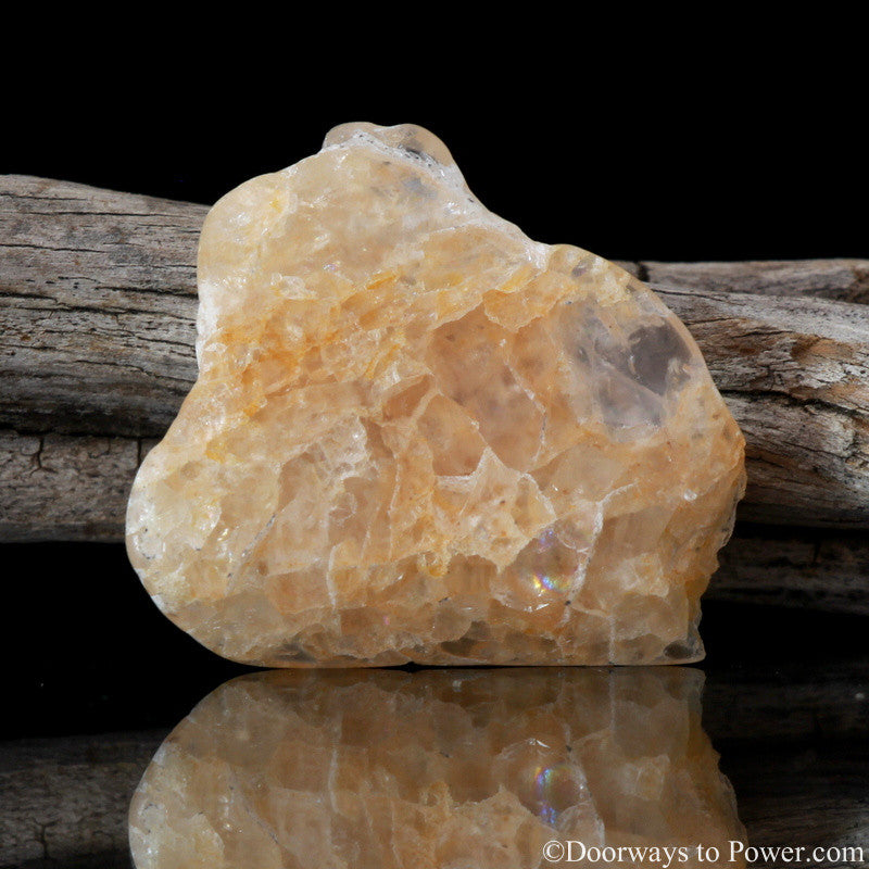 Himalaya Gold Azeztulite Crystal Polished Azozeo Super Activated