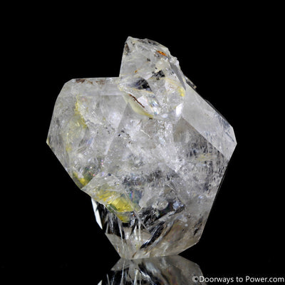 "Rare 2.3"" Herkimer Diamond Pleiadian Starbrary Channeling Record Keeper Crystal"