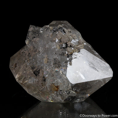 "Rare 2.6"" Herkimer Diamond Master Initiation Channeling Record Keeper Crystal"