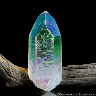 Angel Aura Lemurian Seed Quartz Master Record Keeper Crystal