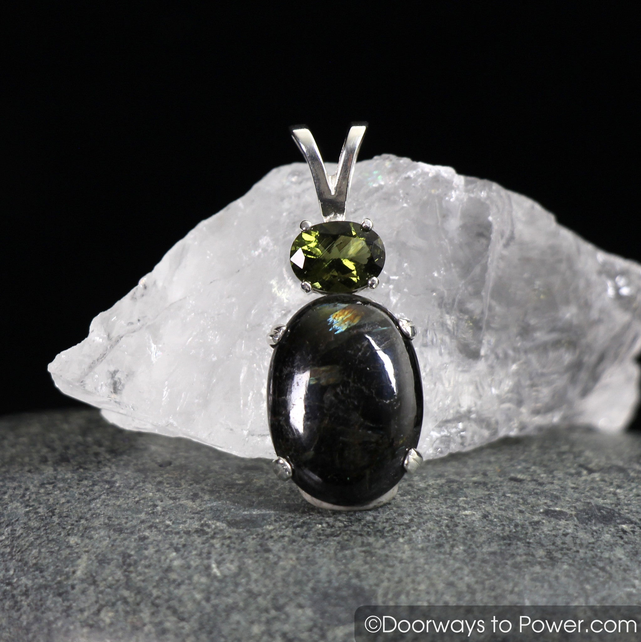 products labradorite stone golden ss to doorways pendant magician power