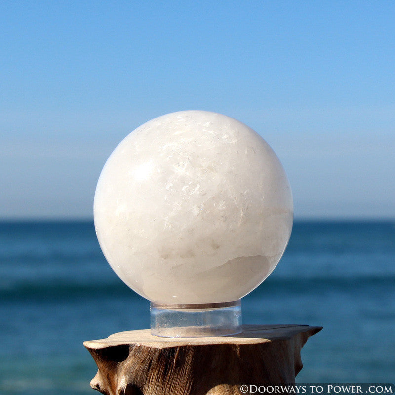 Azeztulite Polished Sphere - Synergy 12 Azozeo Super Activated 2.76""