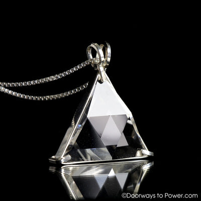 Clear quartz star of david vogel crystal pendant doorways to power clear quartz star of david vogel crystal pendant 925 ss protective shield aloadofball Choice Image
