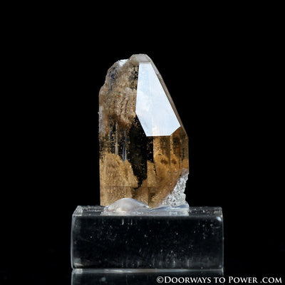 Golden Topaz Terminated Crystal Specimen A ++ Quality