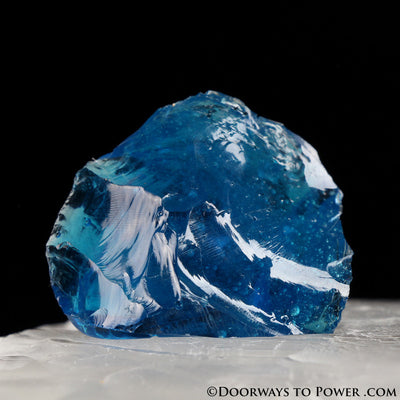 Electric Blue 'Atlantean' Andara Crystal