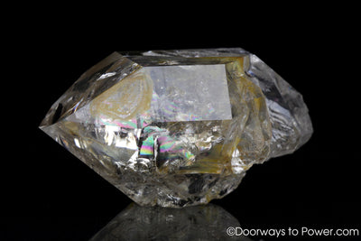 Herkimer Diamond 'Shifter' Double Terminated Channeling Crystal