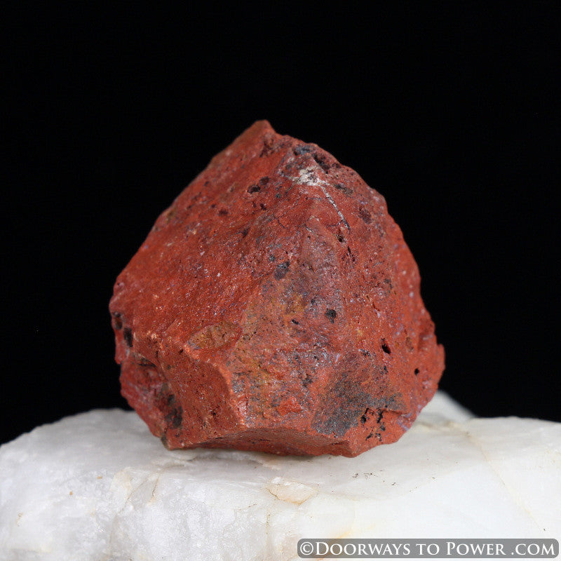 Red Fire Azeztulite Crystal Azozeo Activated Raw #2
