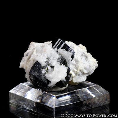 Beautiful Black Tourmaline & Quartz Specimen A+++