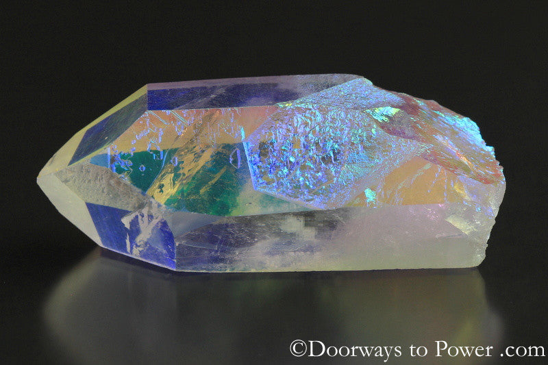 Angel Aura Lemurian Pleiadian Starbrary Record Keeper Dow Crystal