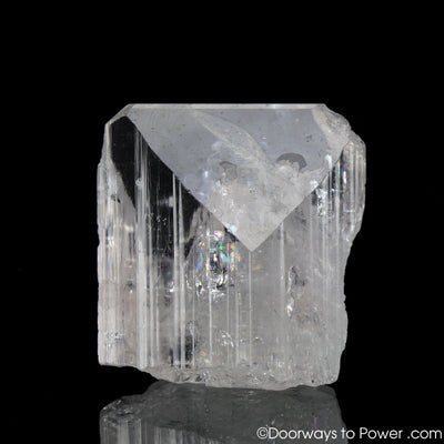 Danburite Crystal 'Higher Wisdom'  w/ Rainbows