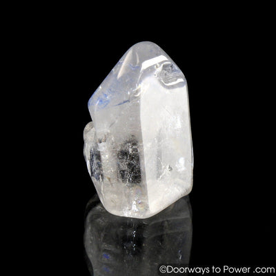 Dumortierite Quartz Crystal Point A ++