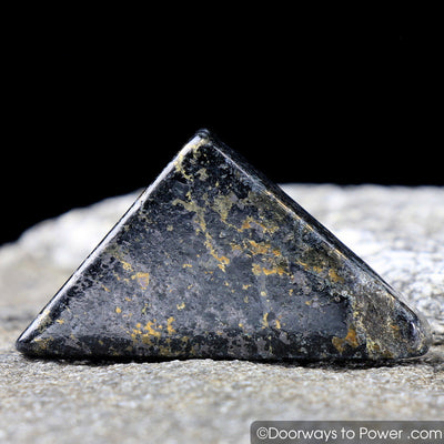 Healers Gold Tumbled Stone Polished Pyrite and Magnetite