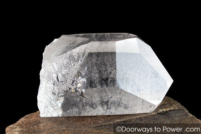 Himalayan Nirvana Quartz Dow Crystal Point Pleiadian Starbrary Record Keeper