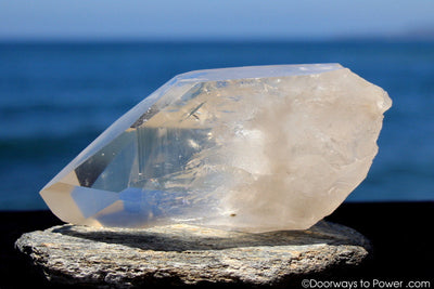 Lemurian Seed Quartz Crystal 'OLDER WORLDS' w/ Pleiadian Starbrary Channeling Time Link