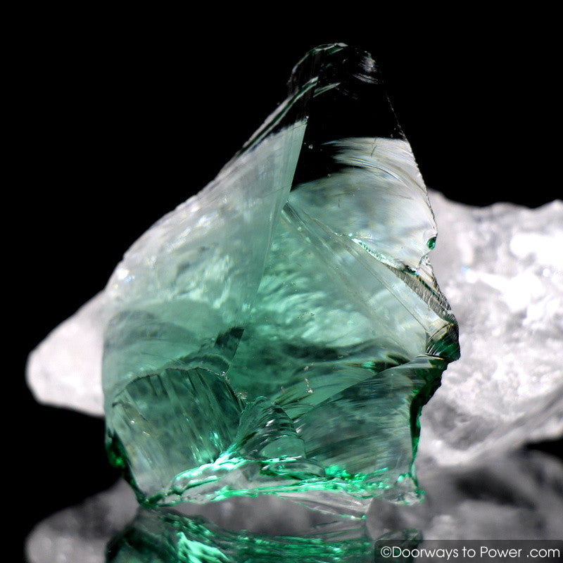 Emerald Shift Monatomic Andara Crystal 'Angel Wing'