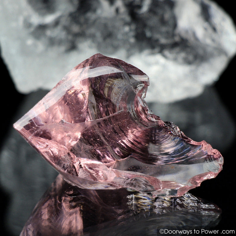 Hgw Pink Andara Crystal 'Heart of God Within'