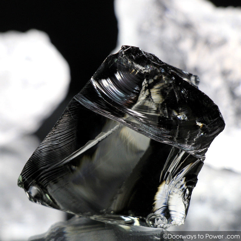 Iridium Black Monatomic Andara Crystal 'Mastery of the Mysteries'