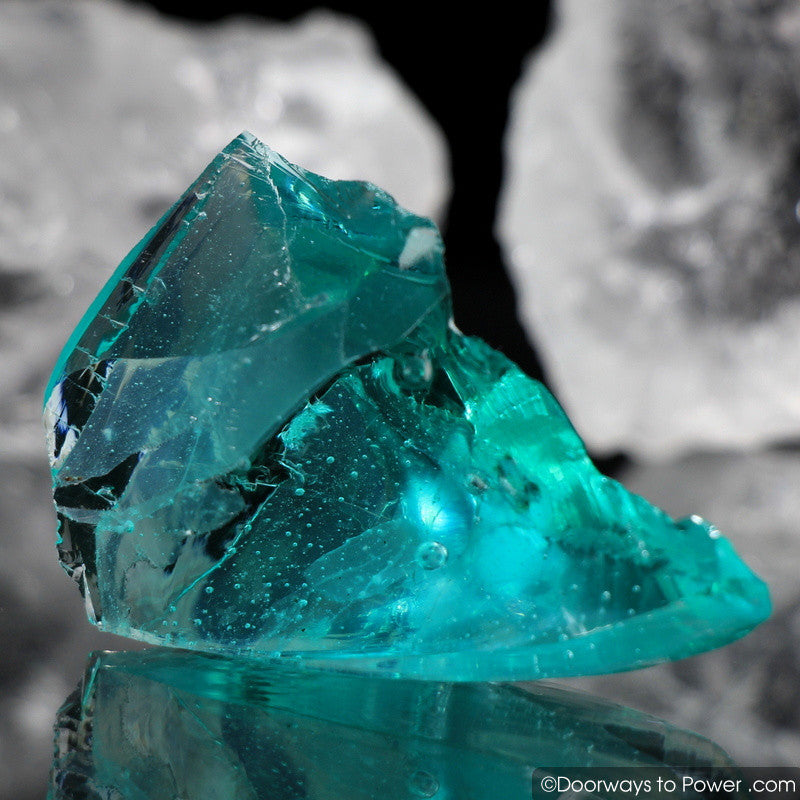 Cyan Angeles Andara Crystal 'Celestial Messenger'