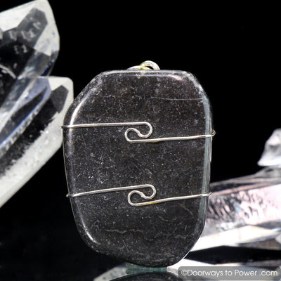 Master Shamanite Crystal Pendant .925 SS