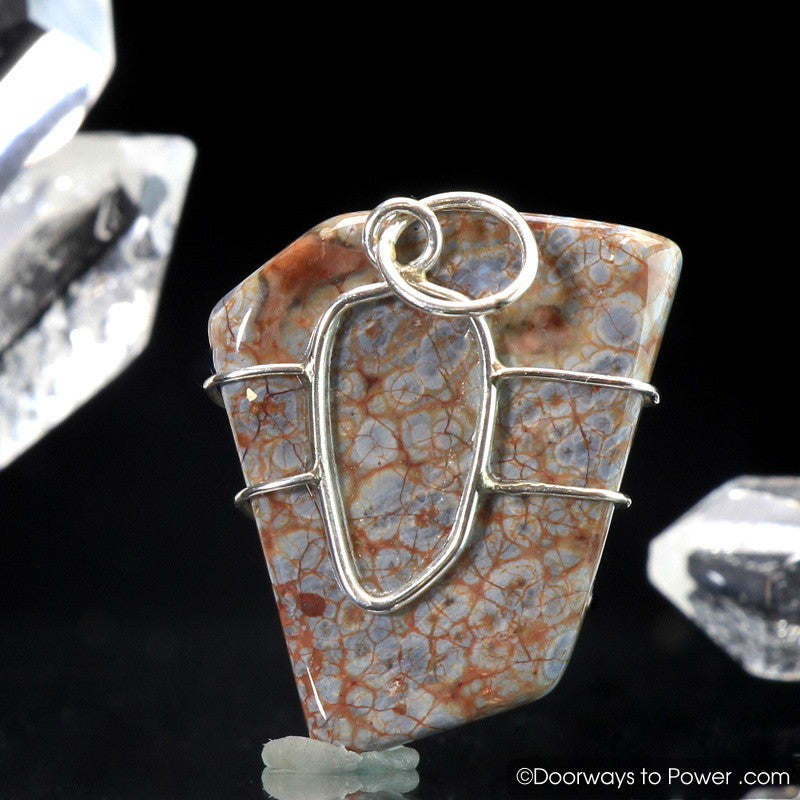 Vortexite Crystal Pendant .925 SS Azozeo Activated
