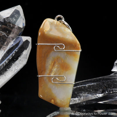Empowerite Crystal Pendant .925 SS