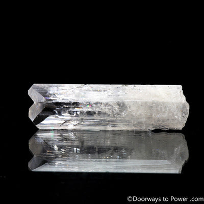 "Danburite Synergy 12 Twin Crystal ""A Higher Octave"""