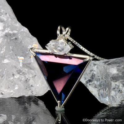 Tanzine Aura Angelic Star Pendant with Quartz