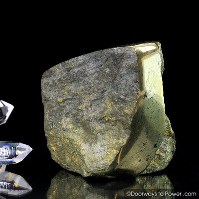 Healers Gold Crystal Altar Stone  (Rare) Attracts Power & Good Fortune