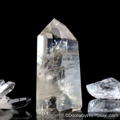Golden Lemurian Pleiadian Starbrary Record Keeper Crystal 'Power Healer'