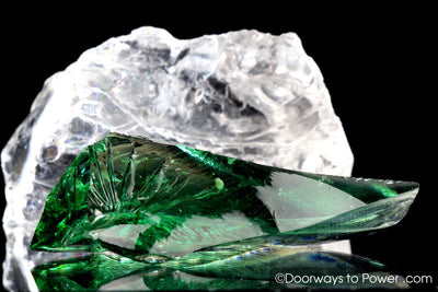 Emerald Shift Monatomic Andara Crystal