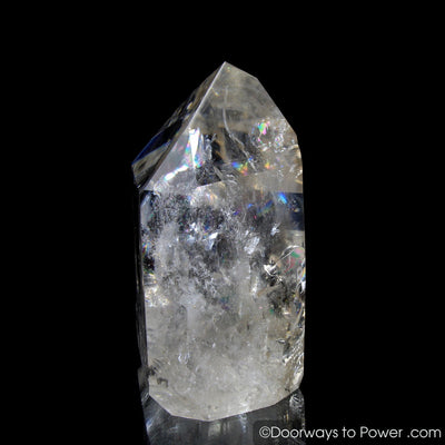 Golden Lemurian Pleiadian Starbrary Record Keeper Power Crystal