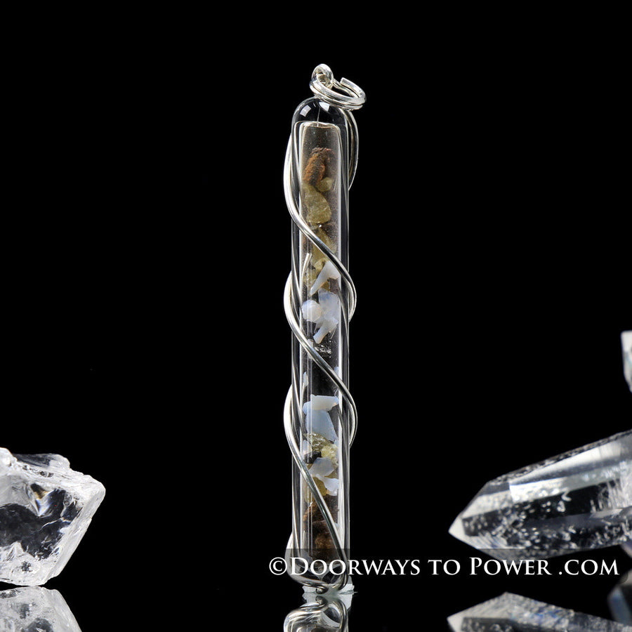 Shamanic Journey Crystal Pendant .925 SS