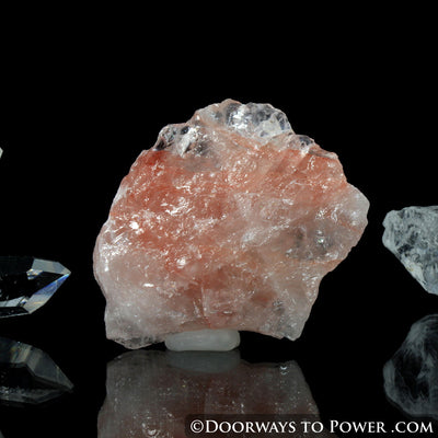 Pink Fire Azeztulite Crystal Azozeo Activated