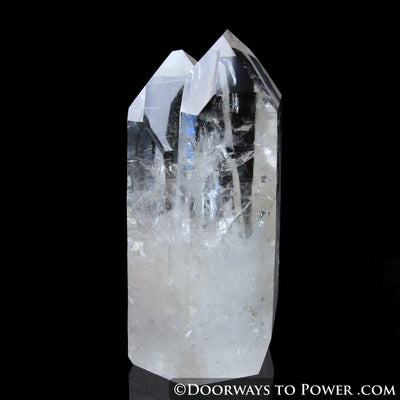 Lemurian Quartz Twin Record Keeper Crystal 'TWO SOULS' Collectors Quality
